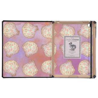 Seashells pattern cases for iPad