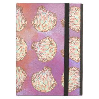 Seashells pattern case for iPad air