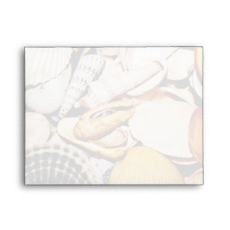 Seashells Pattern Envelope