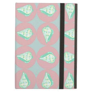 Seashells pattern iPad air case