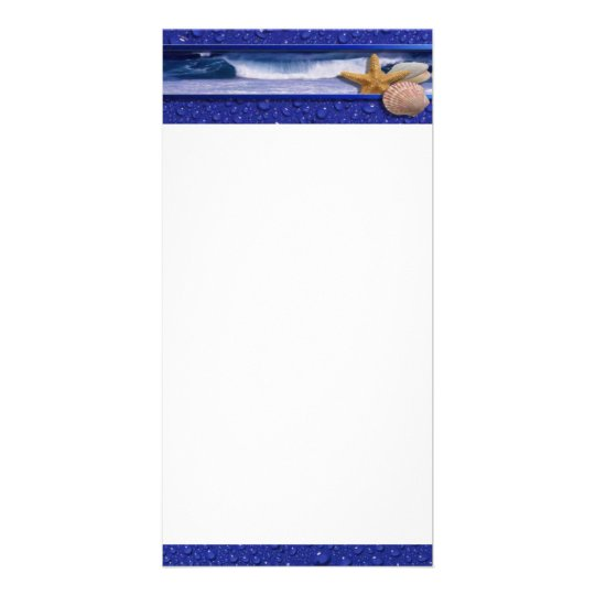 Seashells Photo Card