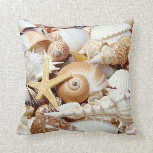 Seashells Pillow Zazzle