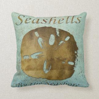 Seashells  Pillow, Copyright Karen J Williams Throw Pillow