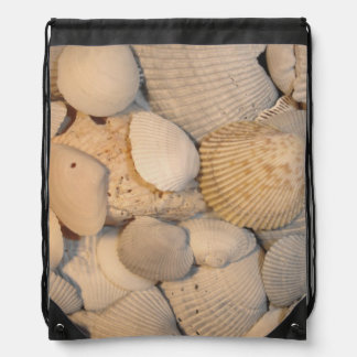 Seashells Cinch Bag