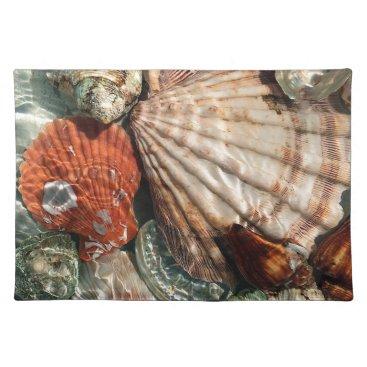 Beach Themed Seashells Placemat