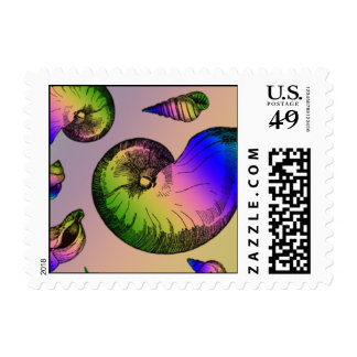 Seashells Postage Stamp