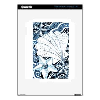 Seashells Skins For iPad 3