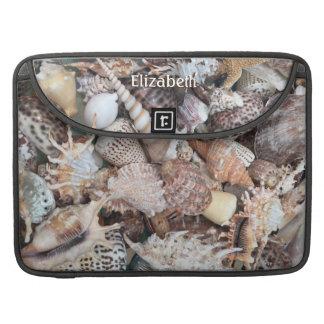 Seashells Sleeves For MacBook Pro