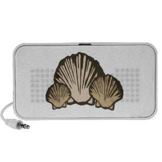 Seashells Laptop Speaker