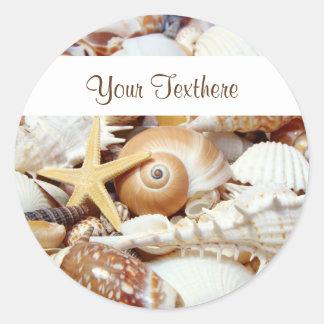 Seashells Stickers