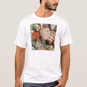 Beach Themed Seashells T-Shirt