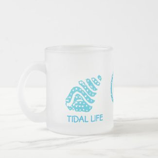 Seashells Tidal Life Frosted Mug