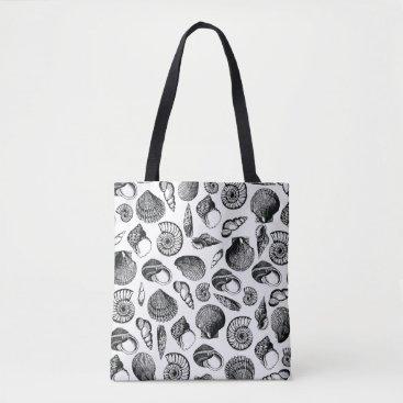 coastalbeachstyle Seashells Tote Bag