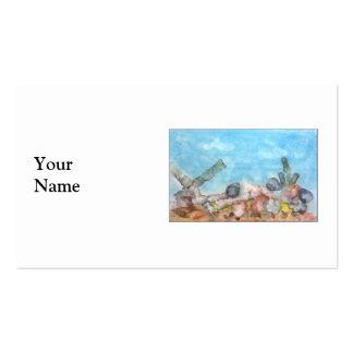 Seashells Under The Sea Business Card Template