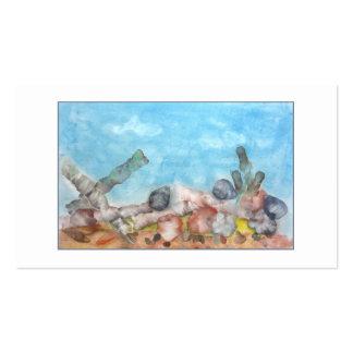 Seashells Under The Sea Business Card