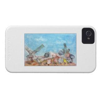 Seashells Under The Sea. iPhone 4 Case
