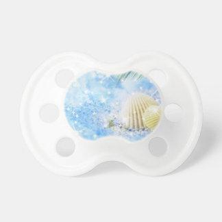 seashels brillantes chupete de bebé