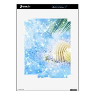 seashels shiney iPad 2 decal