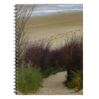 Seashore and Sand Photo Notebook (80 Pages B&W)