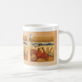 Seashore and Sea Shells Classic White Coffee Mug