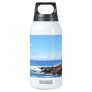 Seashore and Yucca Flowers In Bloom Insulated Water Bottle