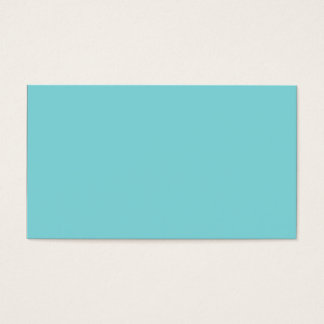 Seashore Blue Personalized Aqua Teal Background Business Card