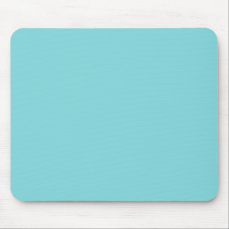 Seashore Blue Personalized Aqua Teal Background Mouse Pad