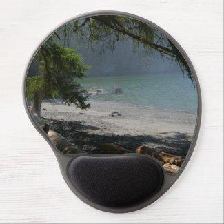 seashore gel mouse pad, nature scene, ocean view gel mouse pad