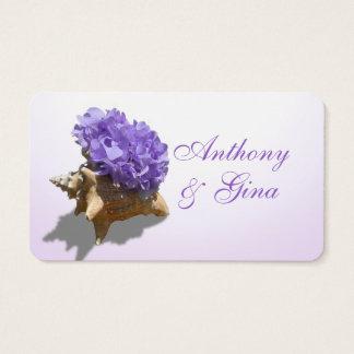 Seashore Hydrangea Purple Information Cards