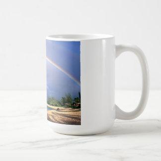 seashore rainbow mug
