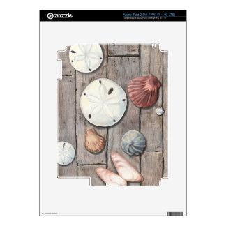 Seashore Treasures Decals For iPad 3