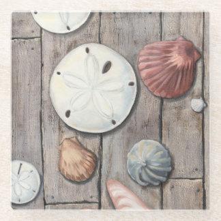 Seashore Treasures Glass Coaster