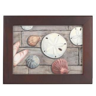 Seashore Treasures Keepsake Box