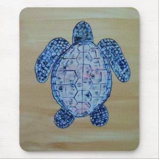 Seashore Turtle Mouse Pad