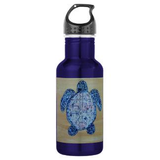 Seashore Turtle 18oz Water Bottle