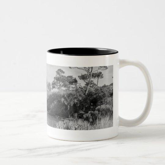 Seashore Two-Tone Coffee Mug