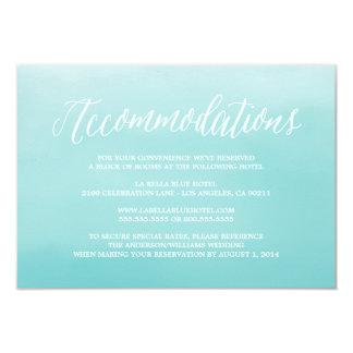 Seaside | Accommodation Enclosure Card