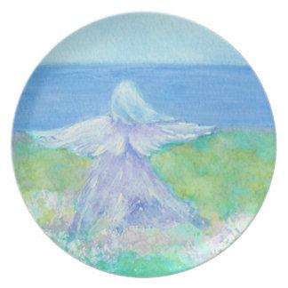 Seaside Angel Plate