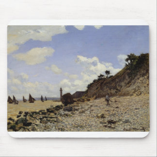 Seaside at Honfleur (1864) Mouse Pad