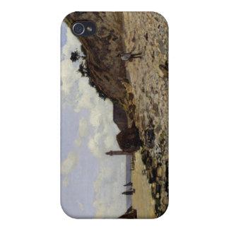 Seaside at Honfleur - Claude Monet iPhone 4/4S Covers