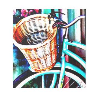 Seaside Bike by J.Gaston Scratch Pads