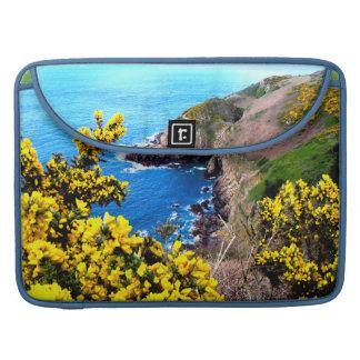 Seaside Blooms MacBook Pro Sleeve