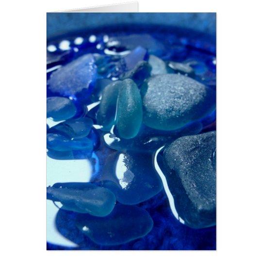 Seaside Blue Greeting Card