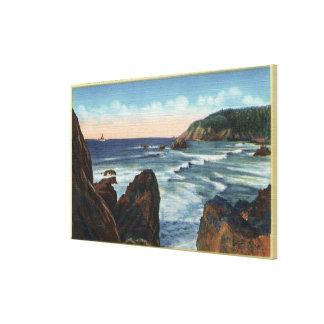 Seaside & Cannon Beach, Oregon Canvas Print