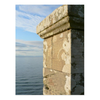 Seaside Castle Wall Postcard