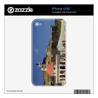 Seaside cemetery of Puerto Rico iPhone 4 Decals