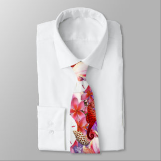 Seaside Collection Pink Purple Neck Tie