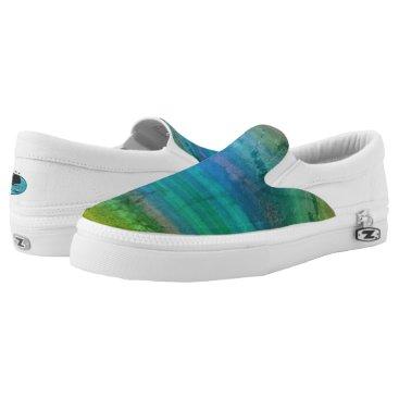 Beach Themed Seaside comfort Slip-On sneakers