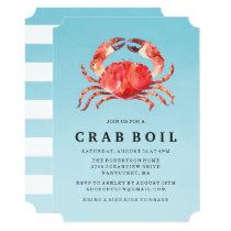 Seaside Crab Boil | Summer Party Invitation