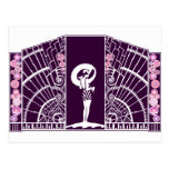 Seaside Deco in Purple and Pink Postcards